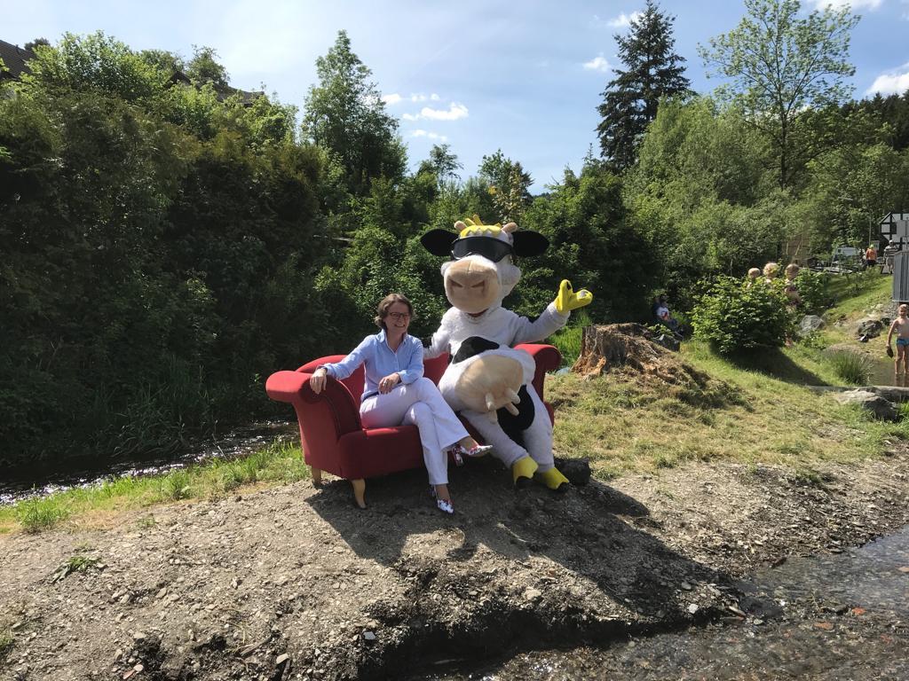 Ein Platz zum Ausruhen auf Reinies Island