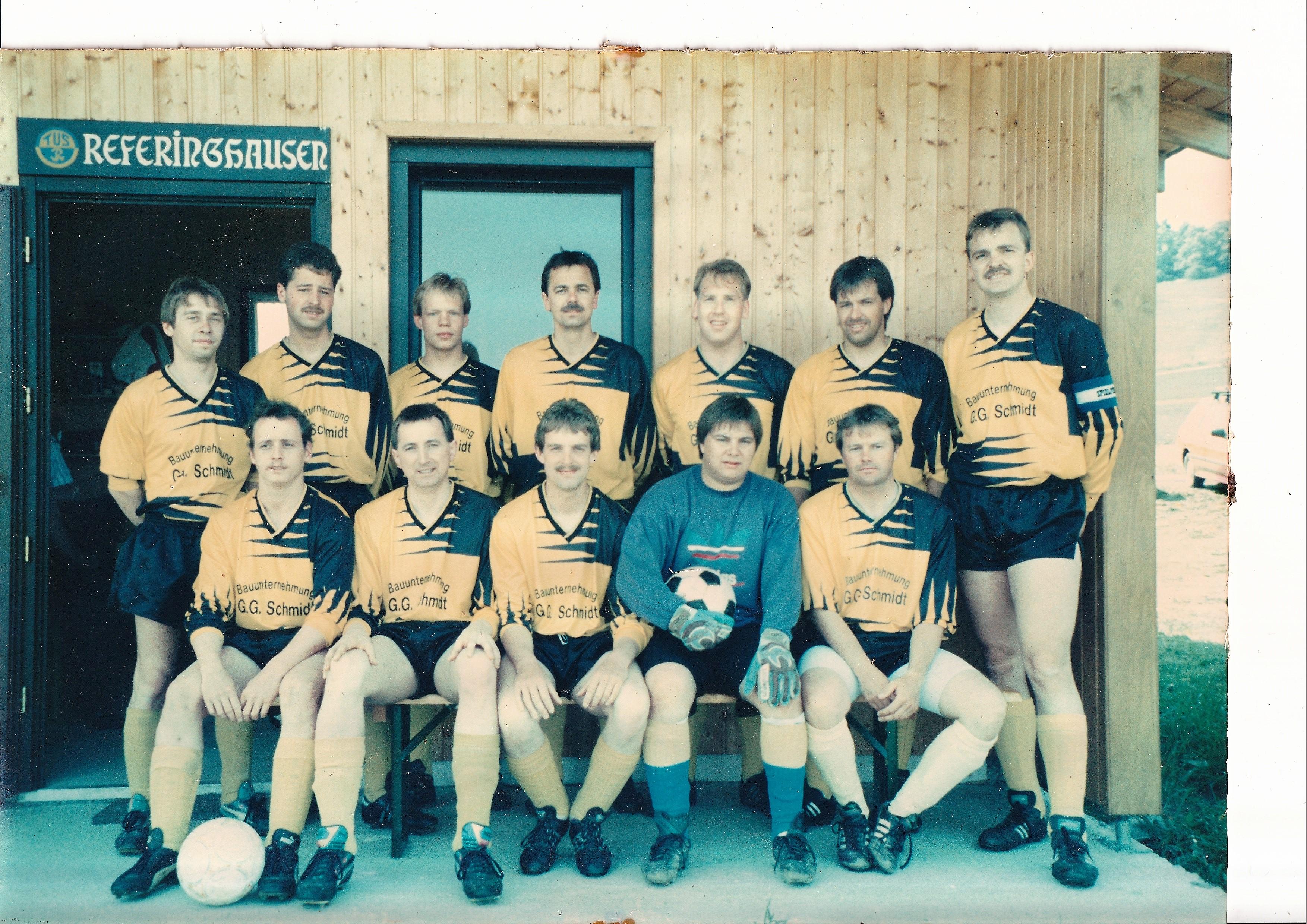 Fußballmannschaft- Eine starke Truppe