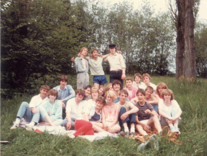 Gruppenfoto Jugend 1985