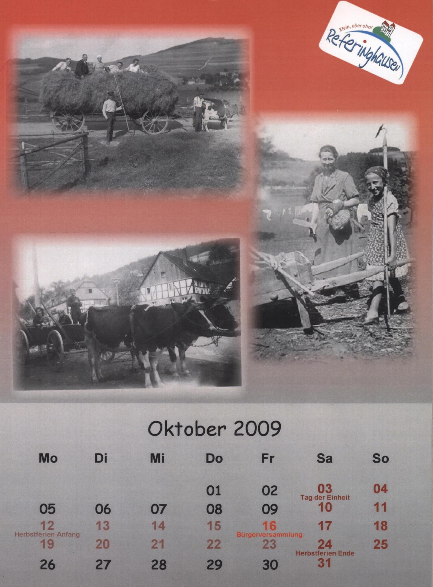 Kalender 2009 Teil 3