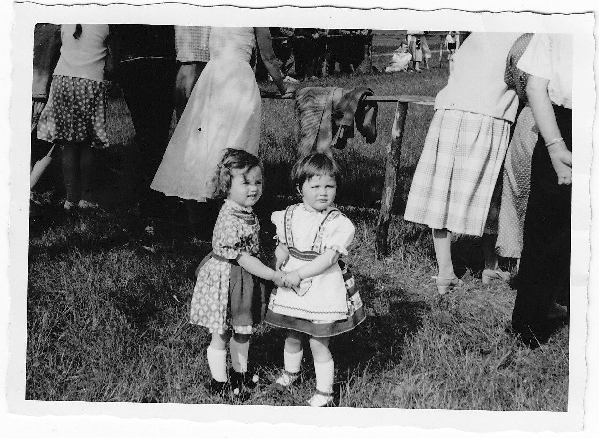 Kinderbild vom Sportfest 1959