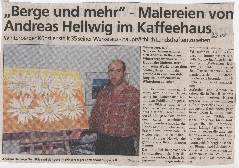 Malerein von Andreas Hellwig